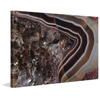 Marmont Hill 'Smashed Jewels' Painting Print on Canvas - Multi-color