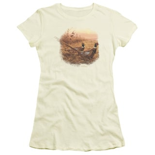 Wildlife/First Alert Pheasants Junior Sheer in Cream