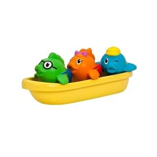 Munchkin Multi-color Plastic School of Fish Bath Toy