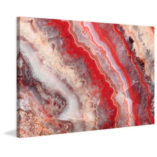 Marmont Hill 'Red Rhodochrosite' Painting Print on Canvas