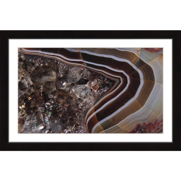Marmont Hill 'Smashed Jewels' Framed Art Print