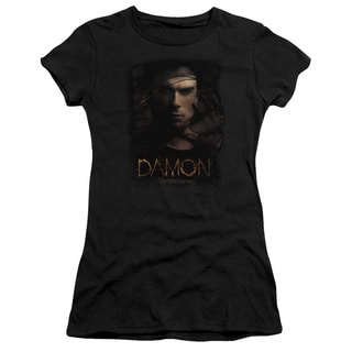 Vampire Diaries/Damon Smokey Veil Junior Sheer in Black