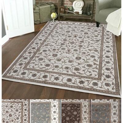 Admire Home Living Plaza Vines Area Rug (7'10 x 10'6) - 7'10 x 10'6