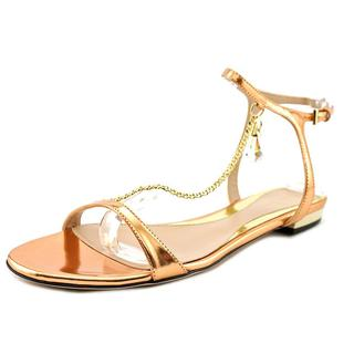 Sebastian Milano Women's Specchio Flat Leather Sandals