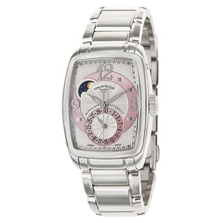 Armand Nicolete Stainless Steel Sapphire Water-resistant Watch