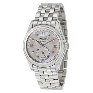 Baume & Mercier Men's Casual Silvertone Stainless Steel Watch