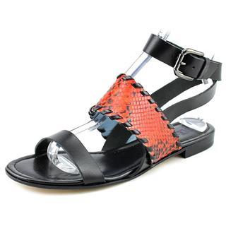 Studio Pollini Women's Python Leather Sandals