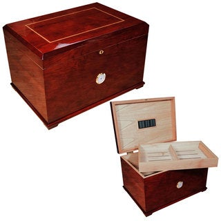 Cuban Crafters Gran Majestad Large Cigar Humidor