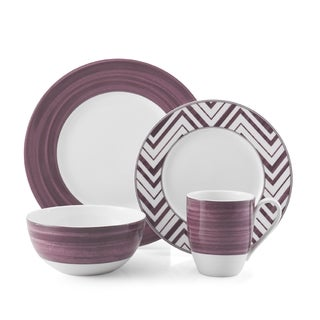 Mikasa Cadence Ruby Porcelain 4-piece Place Setting