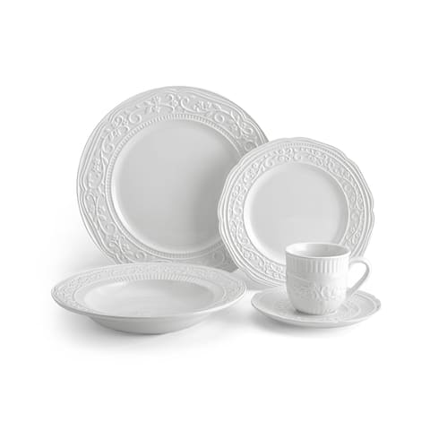 Mikasa American Countryside White 5-piece Place Setting