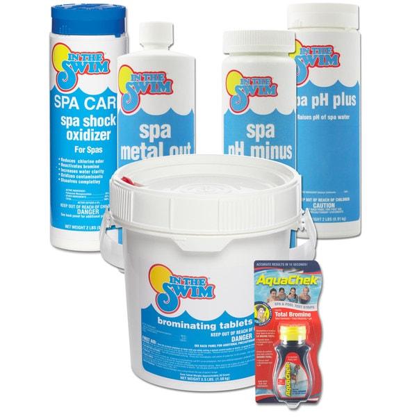 In The Swim Bromine Spa Start-up Chemical Kit