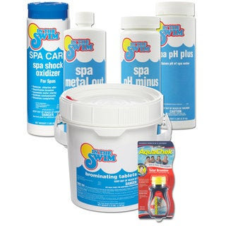 In The Swim Bromine Spa Start-up Chemical Kit