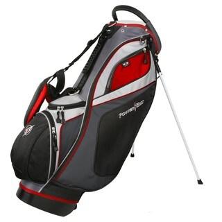 PowerBilt TPS Dunes Multicolor Nylon/Metal 14-way Stand Golf Bag