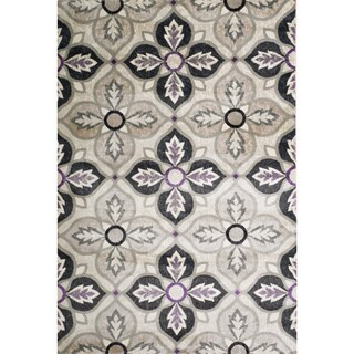 Christopher Knight Home Valerie Lacie Multi Grey Rug (8' x 10')