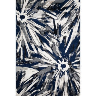Christopher Knight Home Valerie Kaleigh Multi Blue Rug (8' x 10')