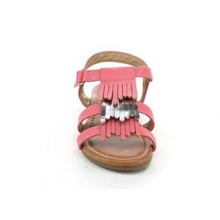 JELLY BEANS DB93 Girl's 3-layer Fringe Gladiator Ankle Sandals