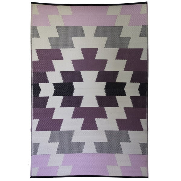 Shop Woven Premiere Home Pink Multi Colored Outdoor Rug
