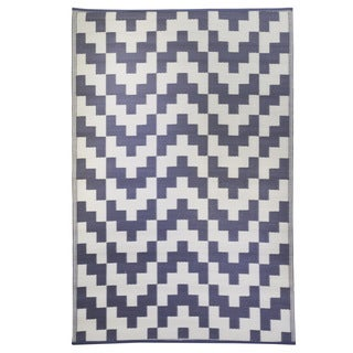 Woven Premiere Home Grey Outdoor Rug (4' x 6')
