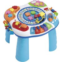 Letter, Train, and Piano Activity Table Kids Toy