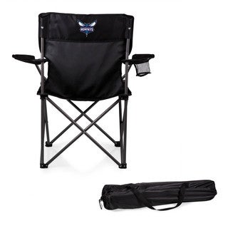 Picnic Time Charlotte Hornets Black Polyester/Metal PTZ Camp Chair