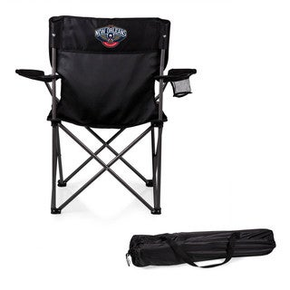 Picnic-Time New Orleans Pelicans PTZ Black Polyester/Metal Camp Chair