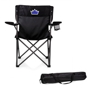 Picnic Time Sacramento Kings PTZ Black Polyester/Metal Camp Chair
