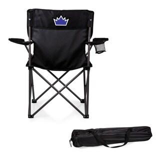 Picnic Time Sacramento Kings PTZ Black Polyester/Metal Camp Chair