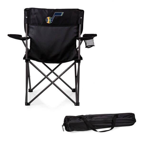 Picnic Time Utah Jazz Black Camp Chair