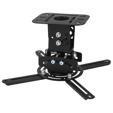 MegaMounts Low Profile Universal Projector Ceiling Mount - N/A - N/A