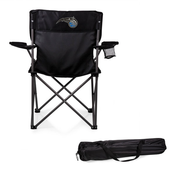 Picnic Time Orlando Magic PTZ Black Polyester/Metal Camp Chair