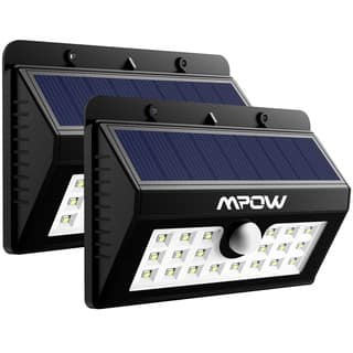 Mpow Solar Power Wireless Security Motion Sensor 20 LED Bulb Light (Pack of 2)|https://ak1.ostkcdn.com/images/products/11910654/P18802701.jpg?impolicy=medium