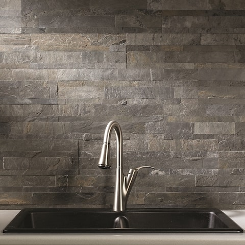 Grey Tile Find Great Home Improvement Deals Shopping At Overstockcom - 4 inch slate tile