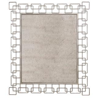 A.R.T. Furniture Epicenters Williamsburg Geometric Metal Link Mirror