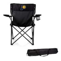 Picnic Time Indiana Pacers Black Polyester/Metal PTZ Camp Chair