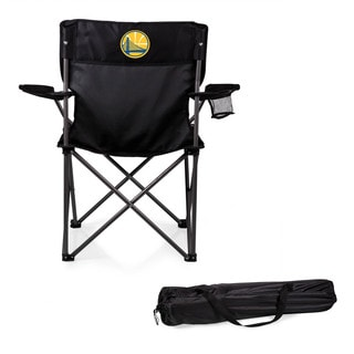 Picnic Time Golden State Warriors Black PTZ Camp Chair