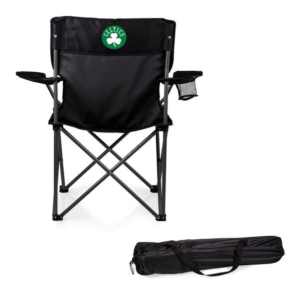 Picnic Time Boston Celtics Black Polyester/Metal PTZ Camp Chair