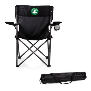 Picnic Time Boston Celtics Black Polyester/Metal PTZ Camp Chair