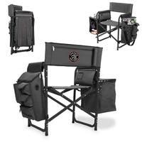 Picnic Time Toronto Raptors Black Polyester Folding Fusion Chair