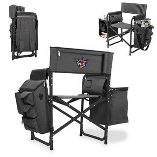 Picnic Time Phoenix Suns Black and Grey Fusion Chair