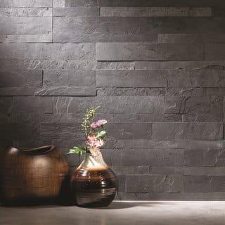 Aspect 6 x 24-inch Charcoal Slate Peel and Stick Stone Backsplash|https://ak1.ostkcdn.com/images/products/11910770/P18802969.jpg?impolicy=medium