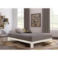 Motif Design Aura White Platform bed