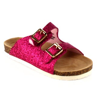 Jelly Beans Girl's Flat Slip-on Sandals