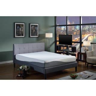 Swiss Ortho Sleep 10-inch King-size Gel Memory Foam Mattress