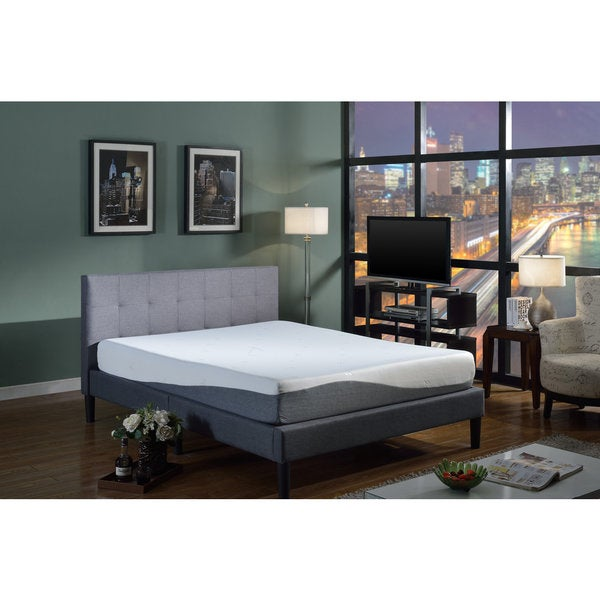 10 Ultra Small Bedrooms With King Size Beds: Shop Swiss Ortho Sleep 10-inch King-size Gel Memory Foam