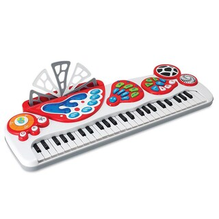 Power House White 49-key Electronic Keyboard