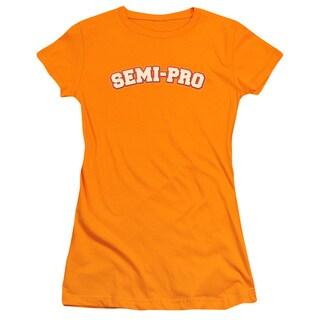 Semi Pro/Logo Junior Sheer in Orange