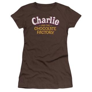 Chocolate Factory/Logo Junior Sheer in Coffee