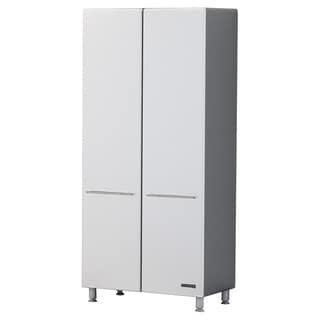 Ulti-Mate White/Grey/Off-white PVC 2-door Tall Storage Cabinets (Pack of 5)