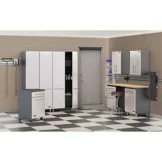 Ulti-MATE Multi-color PVC/Wood 8-piece Storage Cabinets