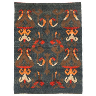 Herat Oriental Afghan Hand-knotted Gabbeh Wool Rug (5'1 x 7')